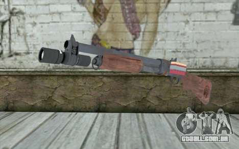 Shotgun from Primal Carnage v2 para GTA San Andreas