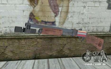 Shotgun from Primal Carnage v1 para GTA San Andreas
