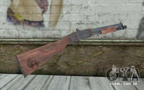 Shotgun from Primal Carnage v1 para GTA San Andreas segunda tela