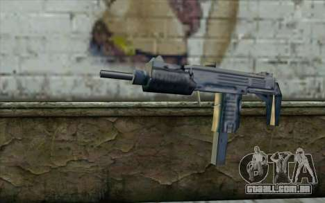 Uzi from Beta Version para GTA San Andreas