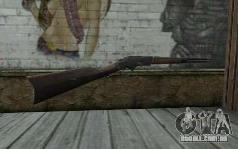 Winchester 1873 v3 para GTA San Andreas segunda tela