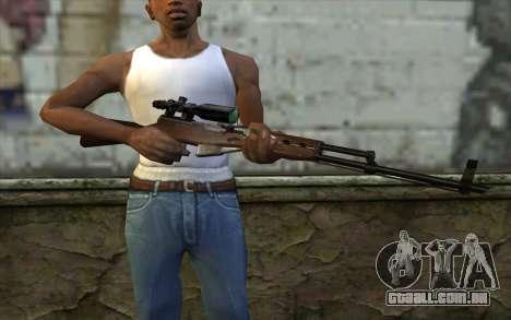 SCS com uma Ótica Visão para GTA San Andreas terceira tela