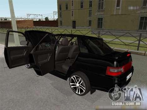 ESTES 2110 XN para GTA San Andreas traseira esquerda vista