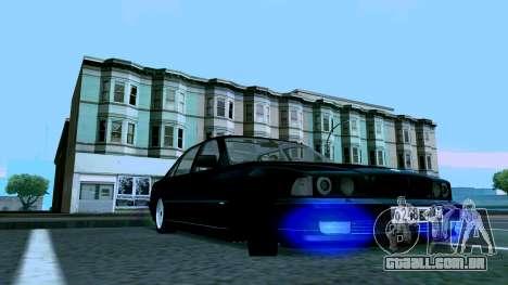 BMW 750iL para GTA San Andreas esquerda vista