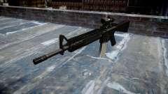 Rifle M16A4 ACOG alvo