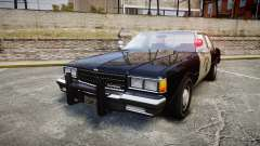 Chevrolet Caprice 1986 Brougham Police [ELS] para GTA 4