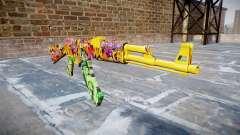 АК-47 graffiti camo