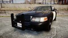 Ford Crown Victoria CHP CVPI Slicktop [ELS] para GTA 4