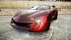Bertone Mantide 2009 para GTA 4