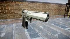 Пистолет IMI Desert Eagle Mk XIX Chrome para GTA 4