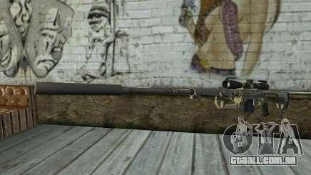 Sniper Rifle Cheytac M200 Intervenção para GTA San Andreas