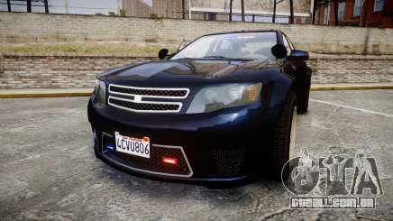 GTA V Cheval Fugitive Unmarked [ELS] Slicktop para GTA 4