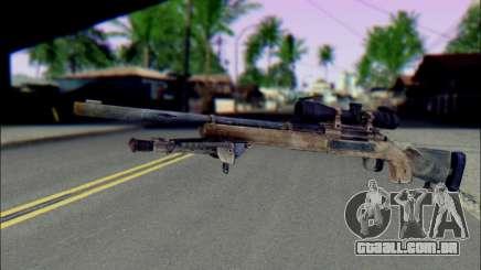 M24Jar rifle Sniper de SGW2 para GTA San Andreas