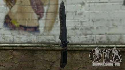 Knife from CS:S Bump Mapping v1 para GTA San Andreas