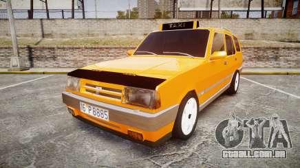 Tofas Kartal SLX Taxi para GTA 4