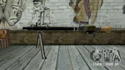 MG-34 from Day of Defeat para GTA San Andreas