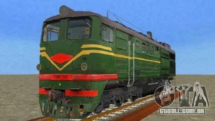 Locomotiva 2TE10L-079 para GTA San Andreas