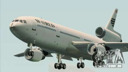 McDonnell Douglas DC-10-30 World Airways para GTA San Andreas
