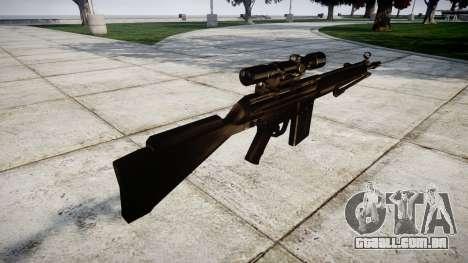 Rifle G3SG1 para GTA 4 segundo screenshot