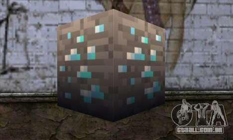 Bloco (Minecraft) v1 para GTA San Andreas segunda tela