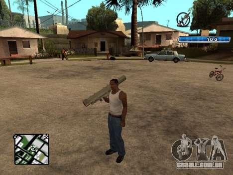 C-HUD by SampHack v.17 para GTA San Andreas