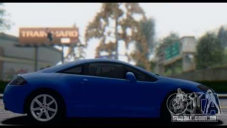 Mitsubishi Eclipse 2006 para GTA San Andreas vista interior