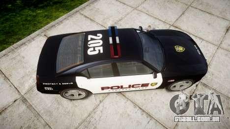 Bravado Buffalo Police LCPD para GTA 4 vista direita