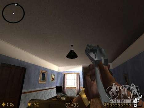 Counter-Strike HUD para GTA San Andreas por diante tela