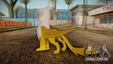 Gilda from My Little Pony para GTA San Andreas segunda tela