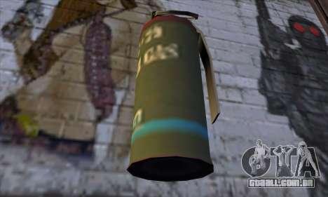 Smoke Grenade from GTA 5 para GTA San Andreas terceira tela