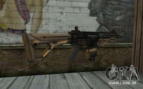 SIG-556 para GTA San Andreas segunda tela