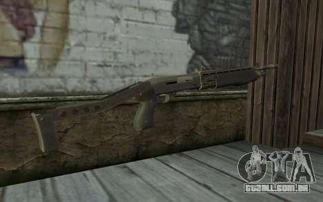Espingarda (Renegade X Black Dawn) para GTA San Andreas segunda tela