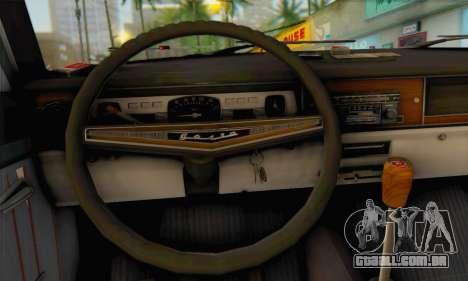 GÁS 24-02 para GTA San Andreas traseira esquerda vista