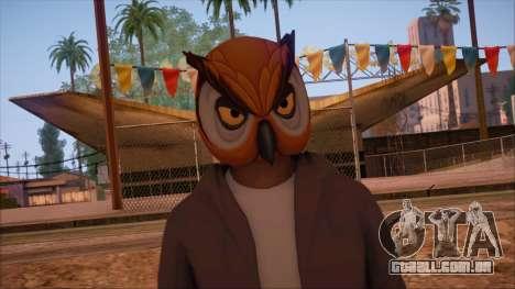 GTA 5 Online Skin 6 para GTA San Andreas terceira tela
