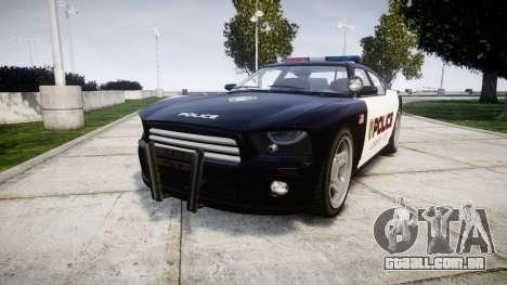 Bravado Buffalo Police LCPD para GTA 4