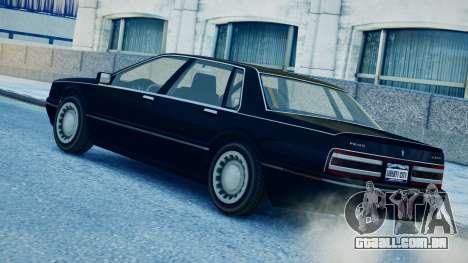 Primo Continental para GTA 4 esquerda vista