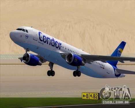 Airbus A320-200 Condor para as rodas de GTA San Andreas