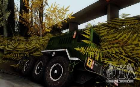 Pista de off-road 3.0 para GTA San Andreas segunda tela