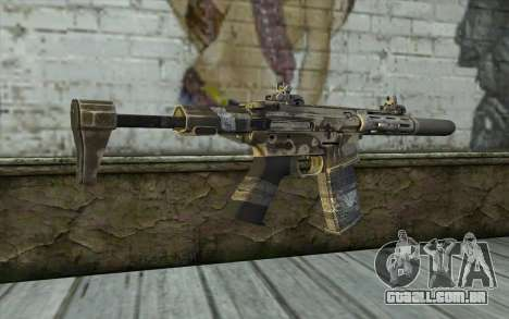 HoneyBadger from CoD Ghosts para GTA San Andreas segunda tela
