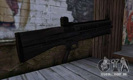 Combat Shotgun from State of Decay para GTA San Andreas segunda tela