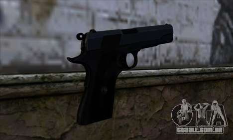 New Colt45 para GTA San Andreas segunda tela