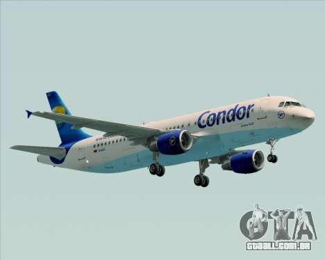 Airbus A320-200 Condor para GTA San Andreas esquerda vista