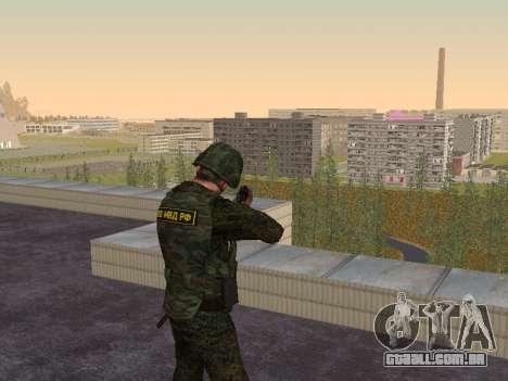 Soldados da MIA da Federação russa para GTA San Andreas terceira tela