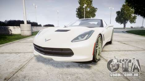 Chevrolet Corvette C7 Stingray 2014 v2.0 TireYA1 para GTA 4