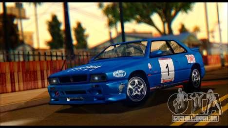 Maserati Ghibli II Cup (AM336) 1995 [ImVehFt] para GTA San Andreas interior