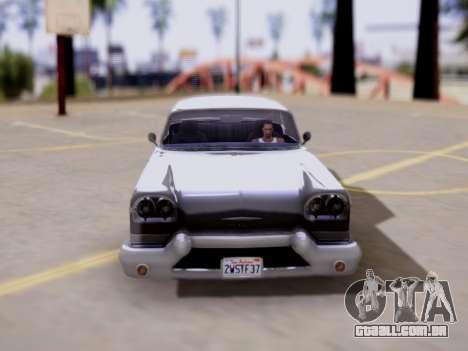 DeClasse Tornado GTA V para GTA San Andreas vista direita