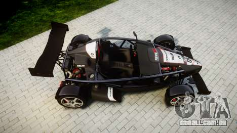 Ariel Atom V8 2010 [RIV] v1.1 AsymBon para GTA 4 vista direita