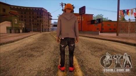 GTA 5 Online Skin 6 para GTA San Andreas segunda tela