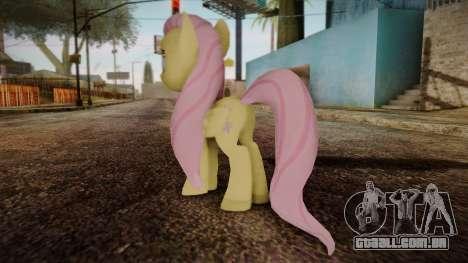 Fluttershy from My Little Pony para GTA San Andreas segunda tela