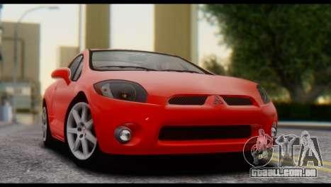 Mitsubishi Eclipse 2006 para GTA San Andreas vista direita
